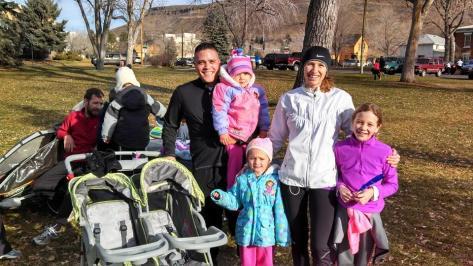 Make running a family affair!