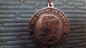 JFK 50 Medal